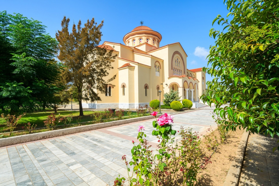 'Monastery of Agios Gerasimos on Kefalonia island, Greece' - Kefalonia
