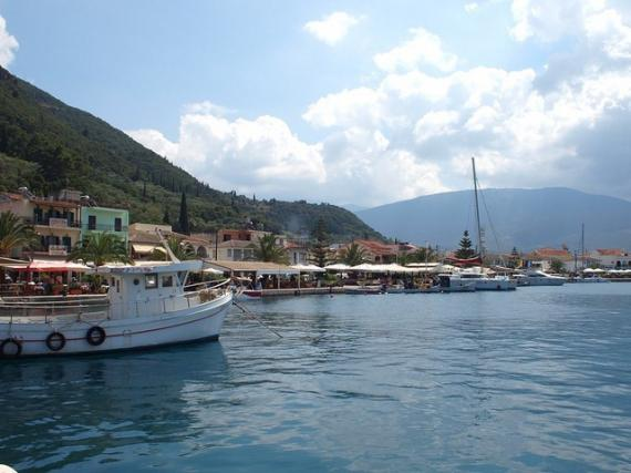 'View of Sami (Kefalonia)' - Kefalonia